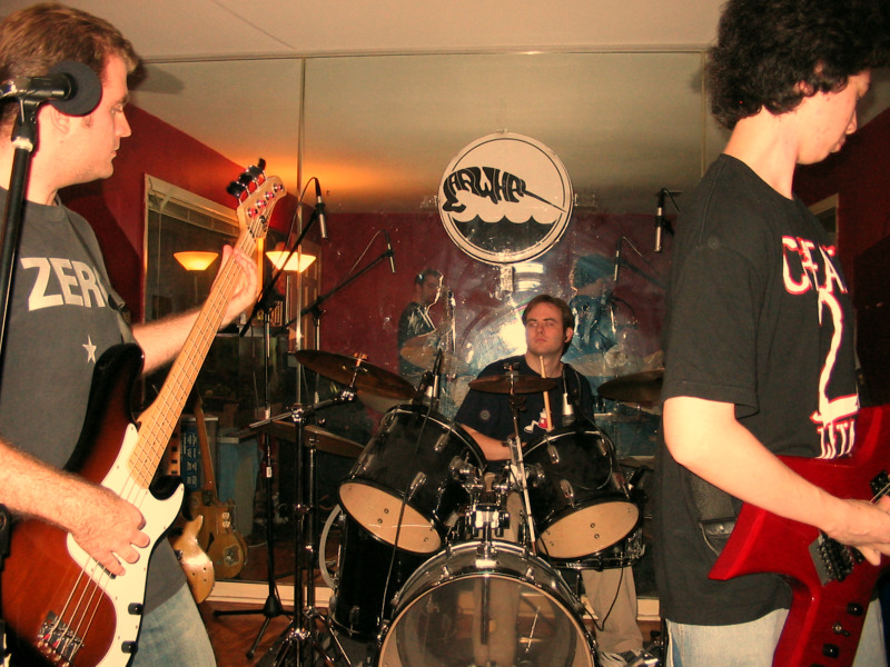 Photo of Narwhal, performing in 2005